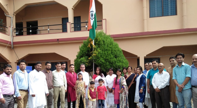 Independence Day Celebration at NIESBUD Dehradun.