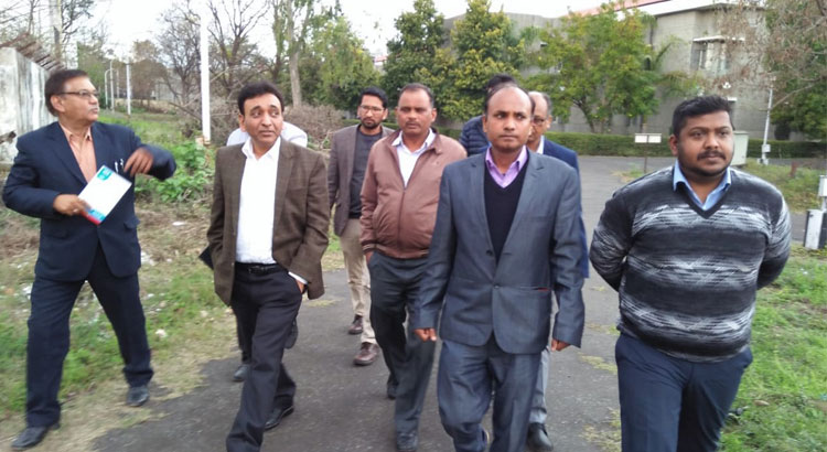 Director General visited NIESBUD Dehradun Office