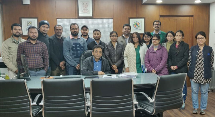 PM-YUVA Team meet with DG, NIESBUD