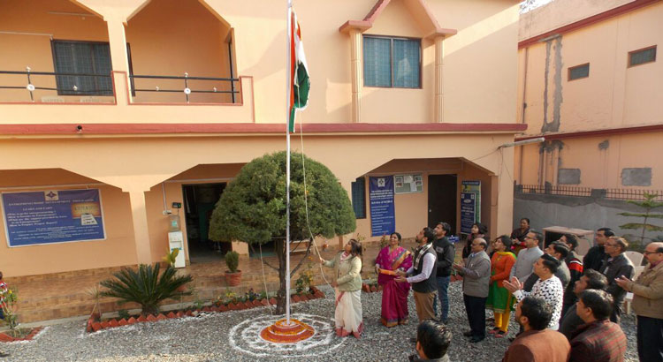 Republic Day Celebration held at NIESBUD Regional Office