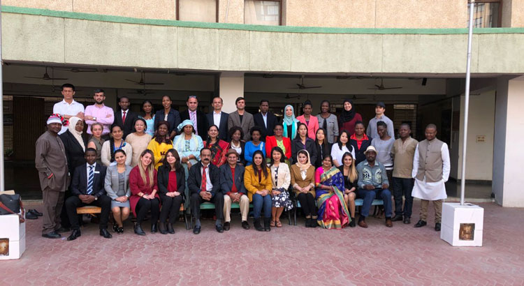 "Valediction Ceremony of Two International programmes ""WED"" & ""TTEPIGA"" held on 25th January 2018"